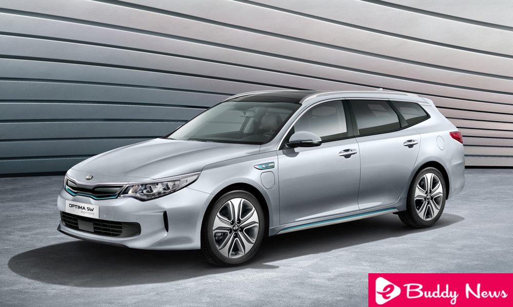 Kia Optima SW PHEV A Plug-In hybrid Electric Car - ebuddynews