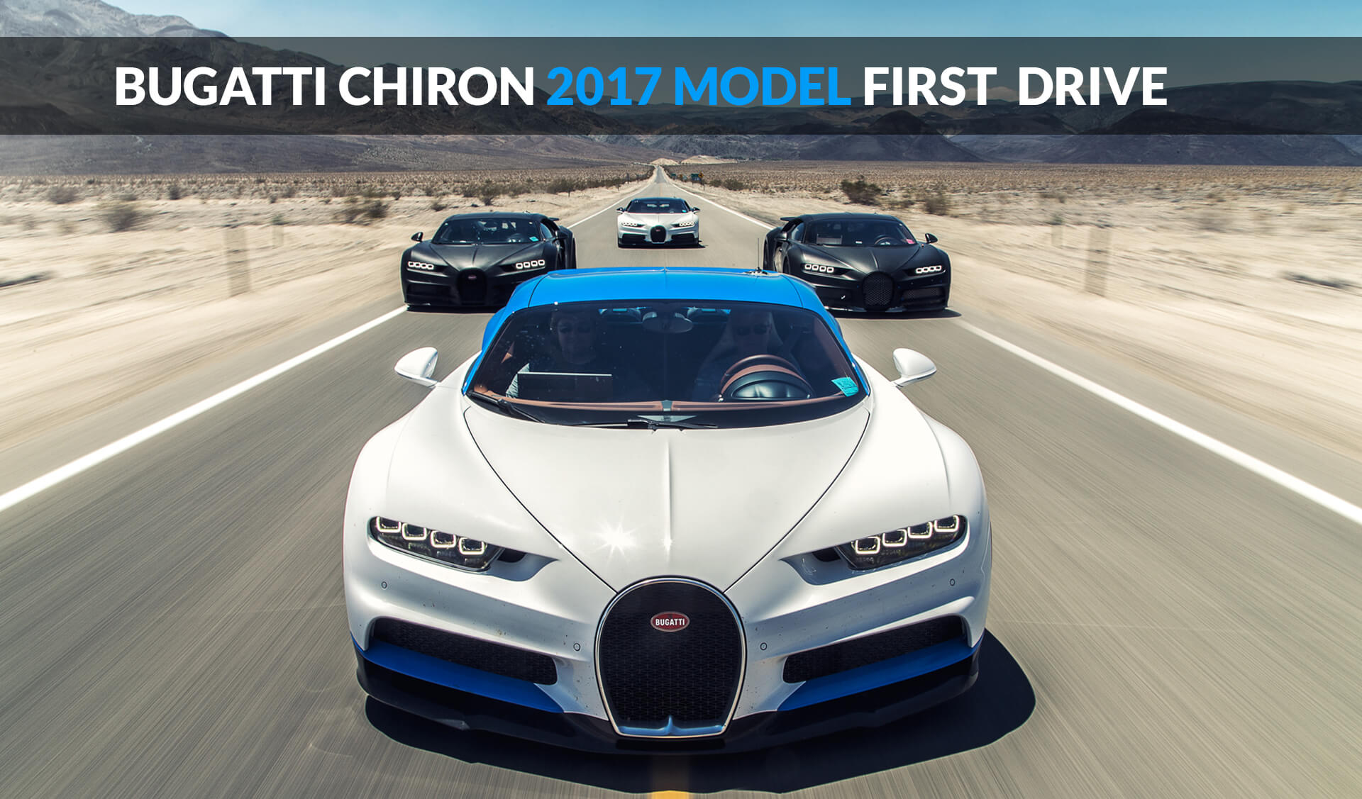 bugatti chiron 2017 model first drive - ebuddynews