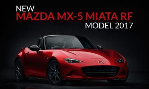 New Mazda MX-5 Miata RF Model 2017
