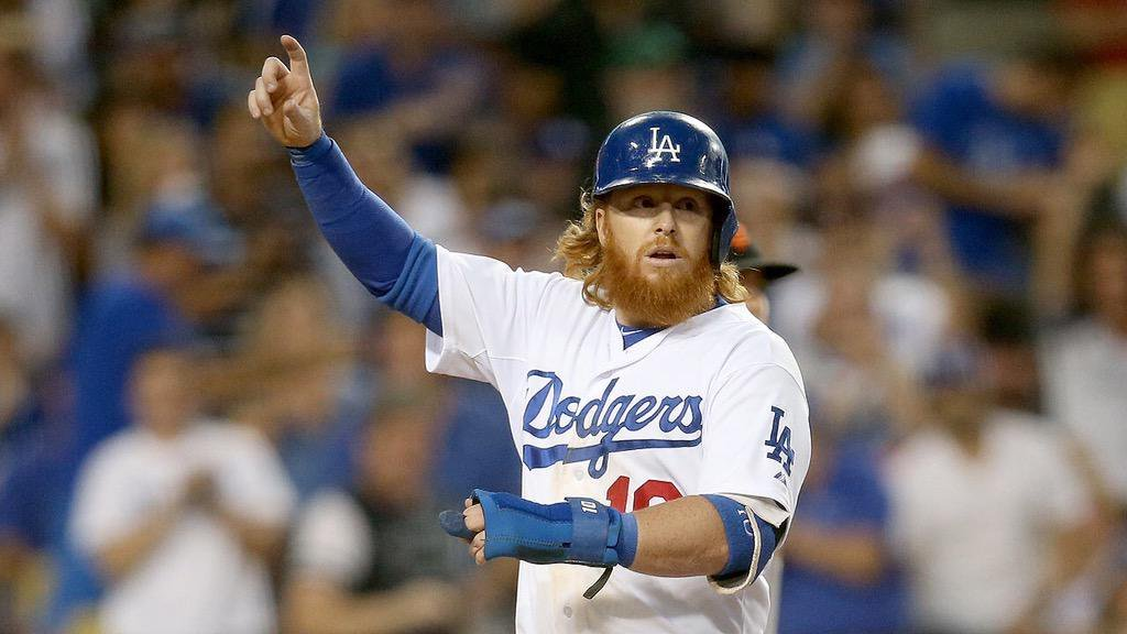 After Kirk Gibson Now With Justin Turner Dodgers Wins World Series Over Cubs
