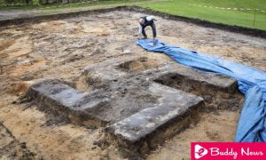 Buried Giant Swastika Found In The Football Ground At German City Of Hamburg ebuddynews