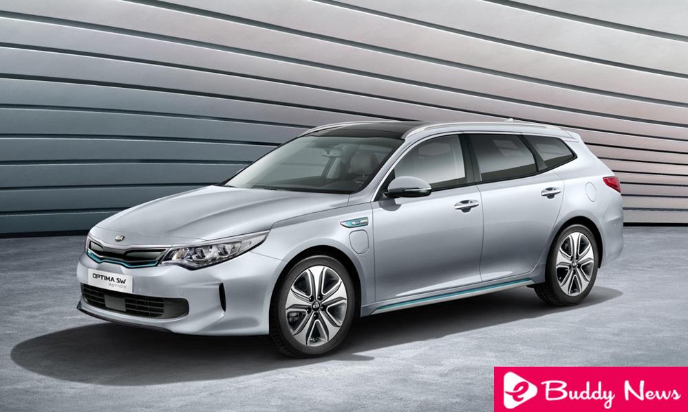 Kia Optima SW PHEV A Plug-In hybrid Electric Car - ebuddynews
