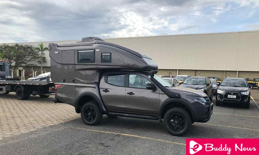 Mitsubishi L200 Motorhome Reveals In November 2018 - ebuddynews